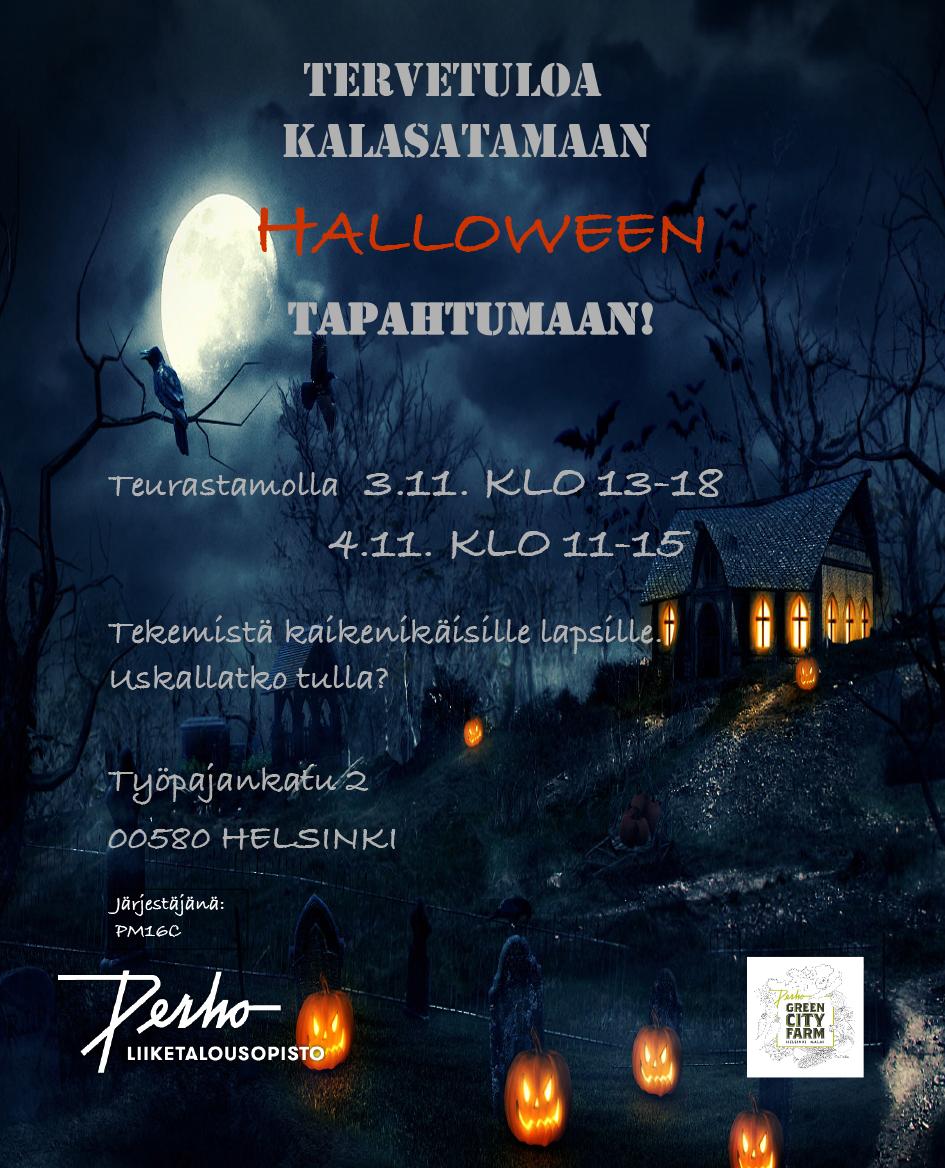 Halloween Teurastamolla ...tule jos uskallat