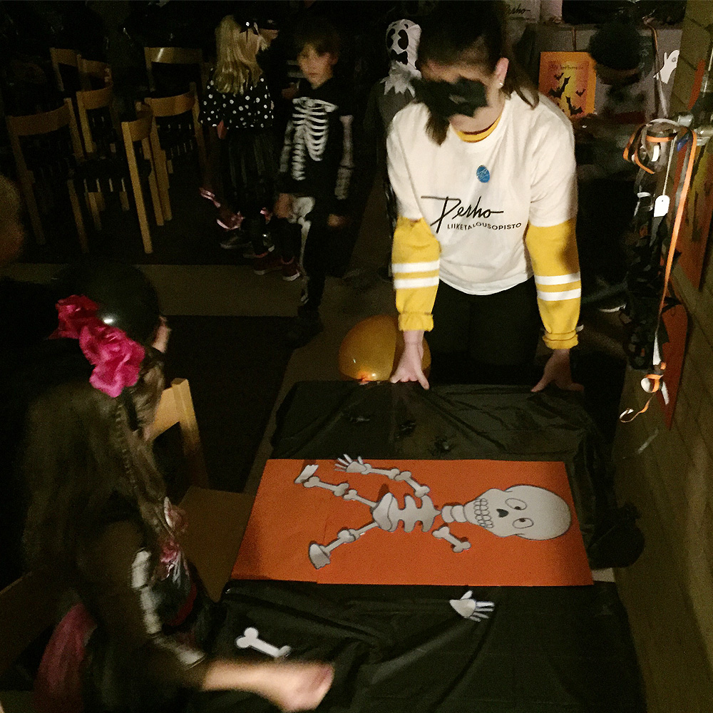 Halloween-tapahtuma Teurastamolla