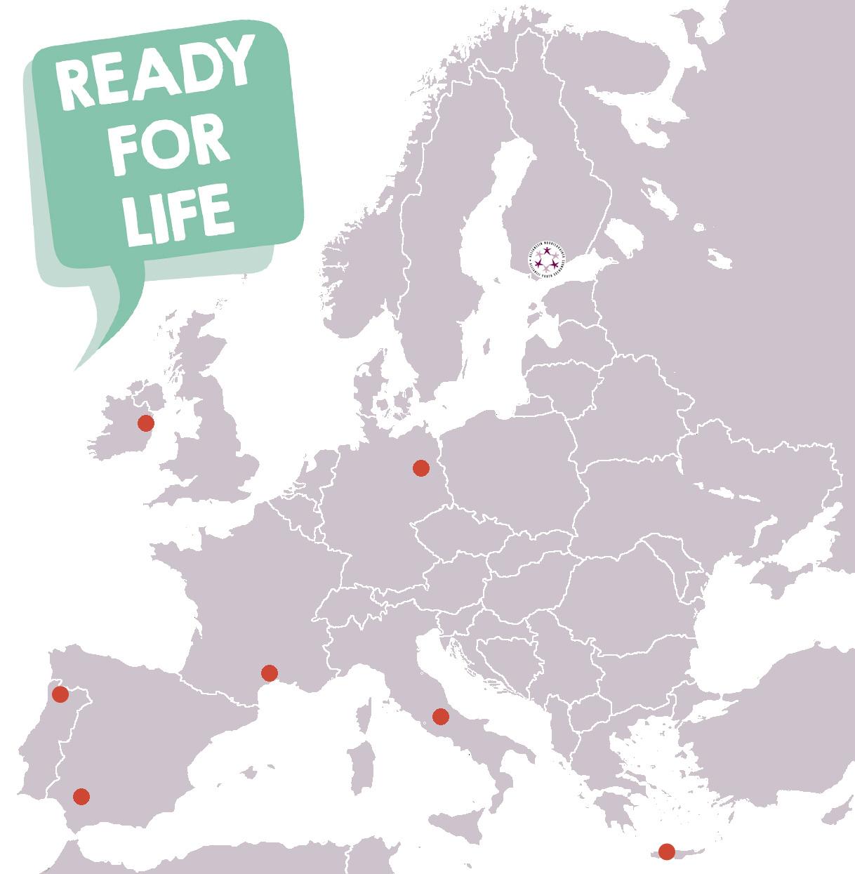 Hae kevääksi työharjoitteluun Eurooppaan