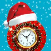Tik-tak, tik-tak, tipe-tipe-tik-tak – joulun/uuden vuoden vaihteen aikoja