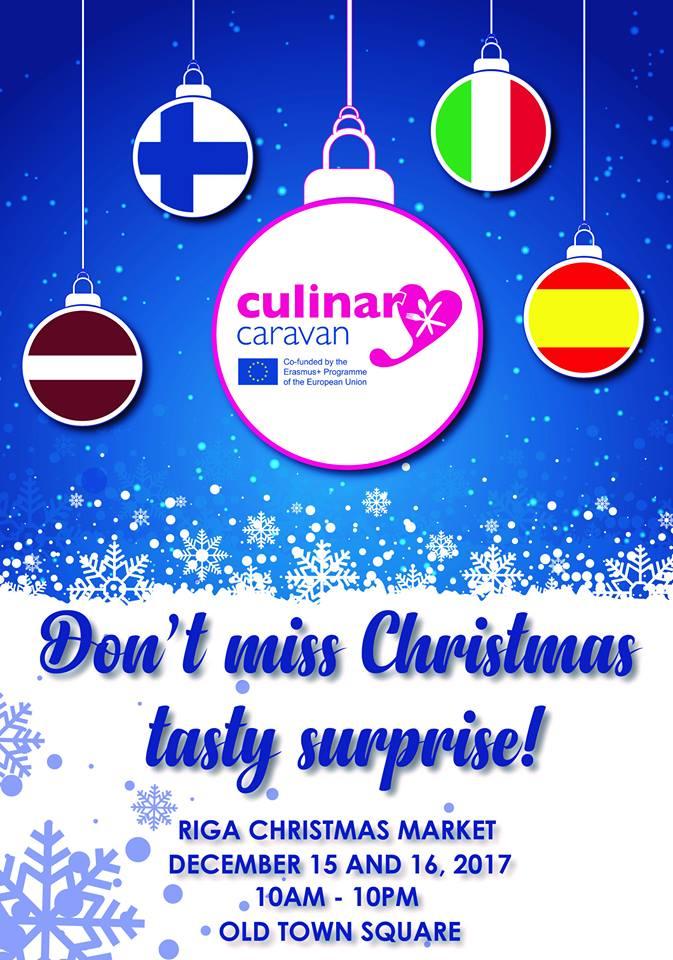 Ho-ho-ho! Culinary Caravan takes Riga Xmas Market