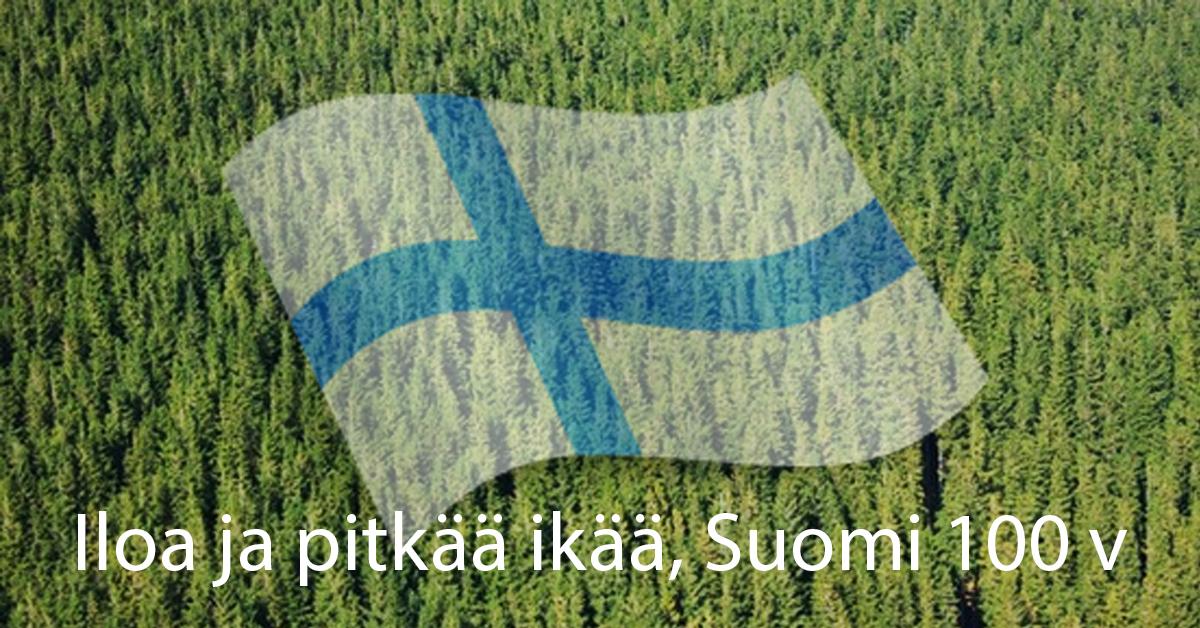 Suomi sata – onnittelut!