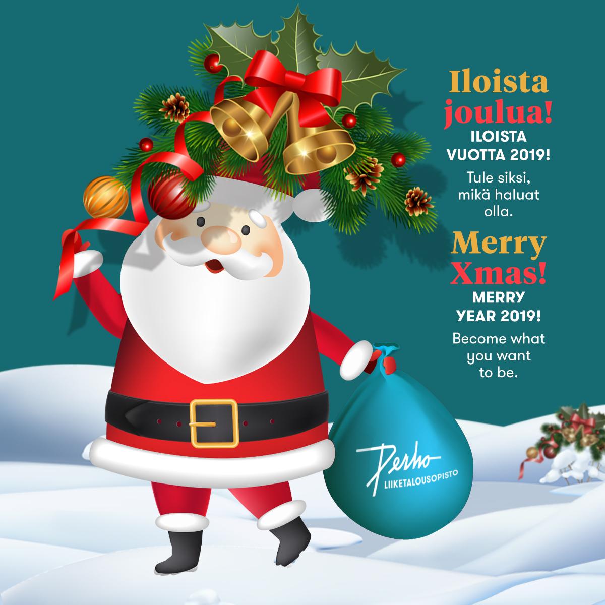 Iloista joulua – Merry Christmas!