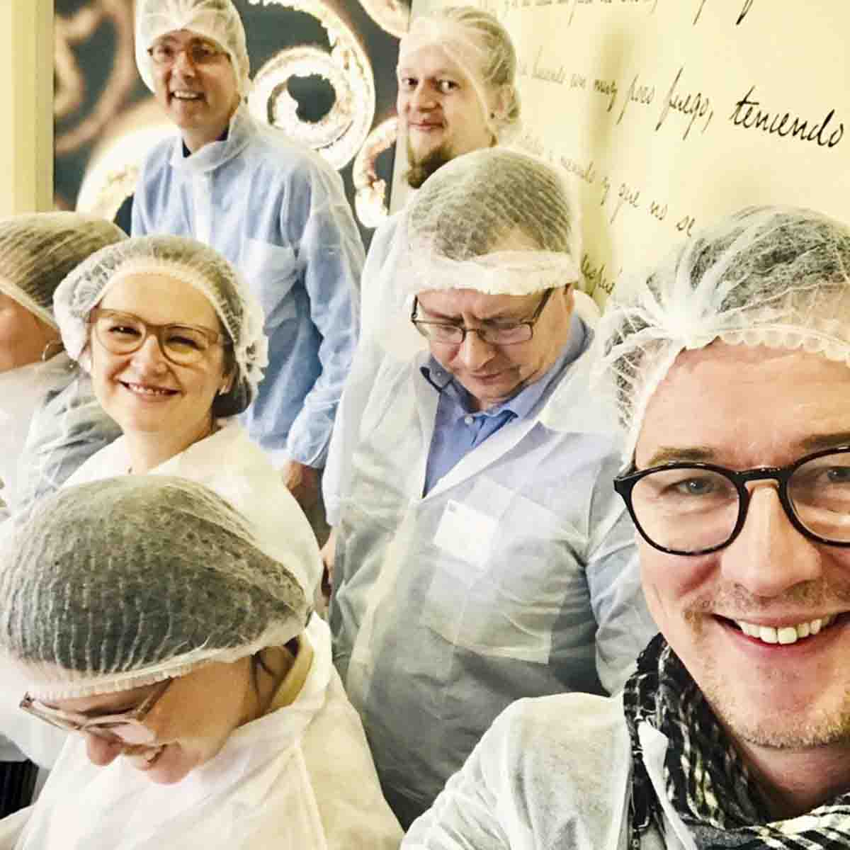 Sustainable cooking for the planet'iläiset Bilbaossa