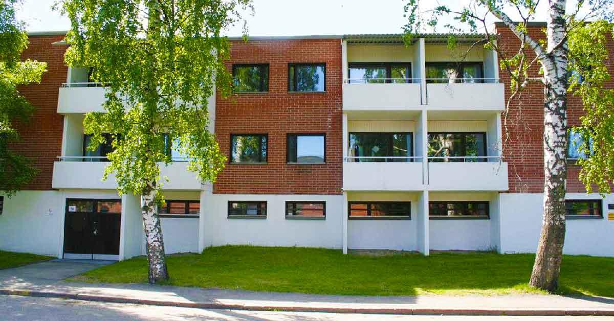 Opiskelija-asuntola Haagassa