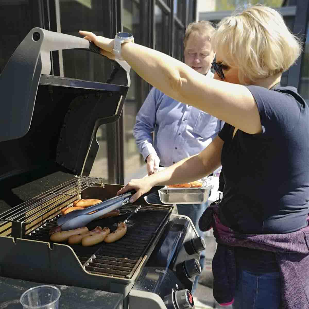 YHR-grilli kävi kuumana