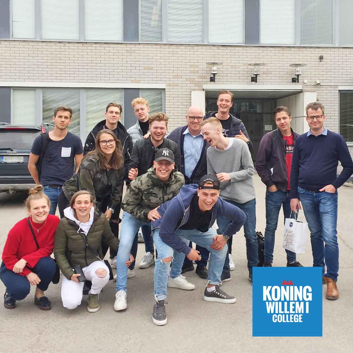 Königwillem1collegelaiset Perho Liiketalousopistossa