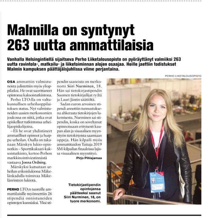 Suomen tietokirjailijat ry:n Tietokirjastipendi Siirille