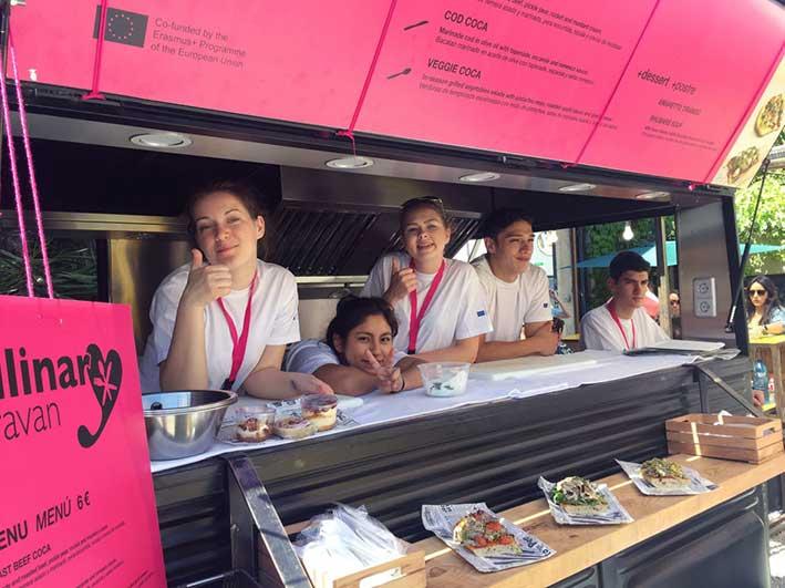 Päättyneitä hankkeita: Culinary Caravan on the Move