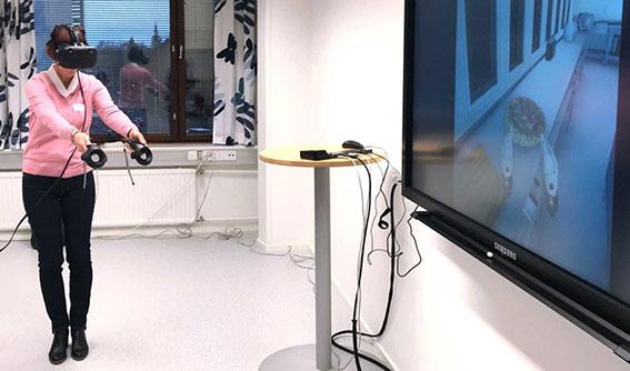 Päättyneitä hankkeita: VRobotiikka360