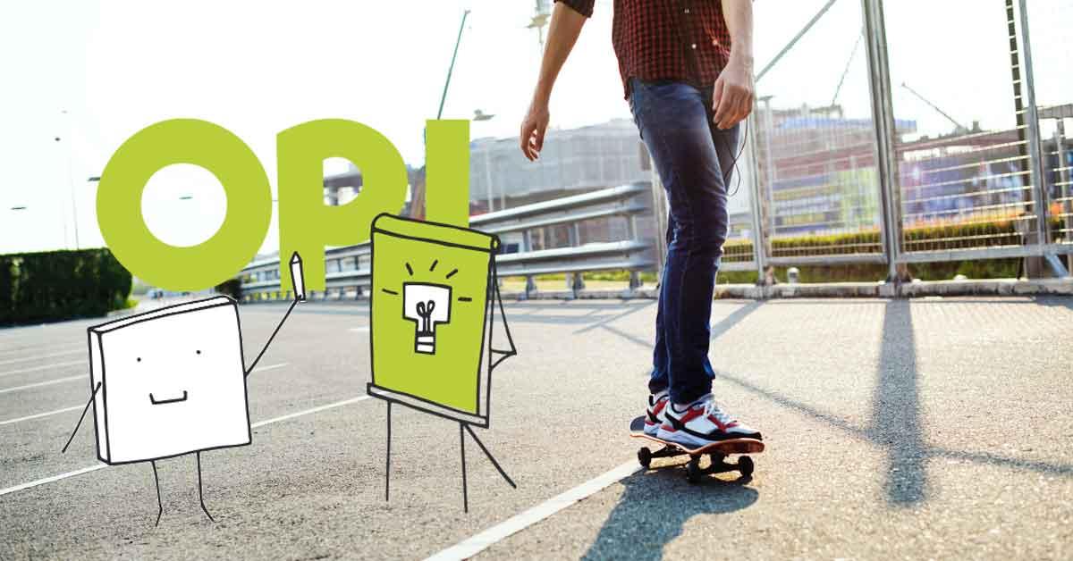 Opiskeluvalmiuksia tukevat opinnot ja kohta opiskelu sujuu kuin skeittaus. Photo by rawpixel.com from Pexels