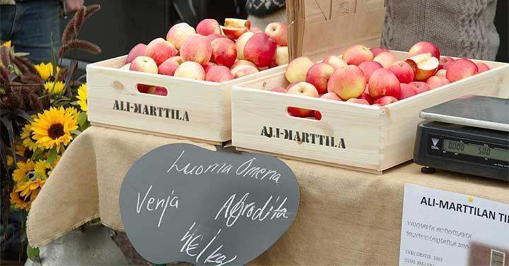 Sadonkorjuumarkkinat – hyvää läheltä Ali-Marttilan tila