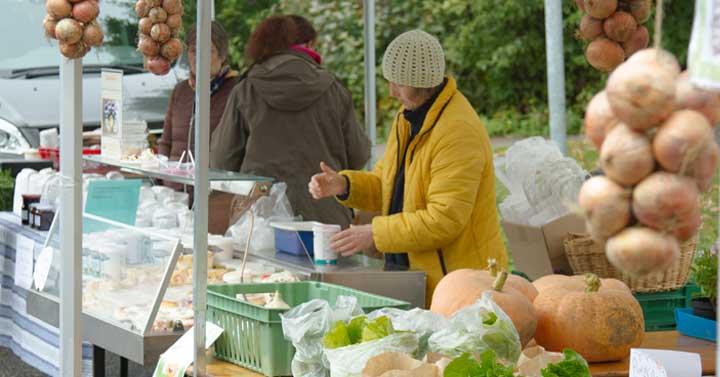 Sadonkorjuumarkkinat – hyvää läheltä Paavolan Kotijuustola