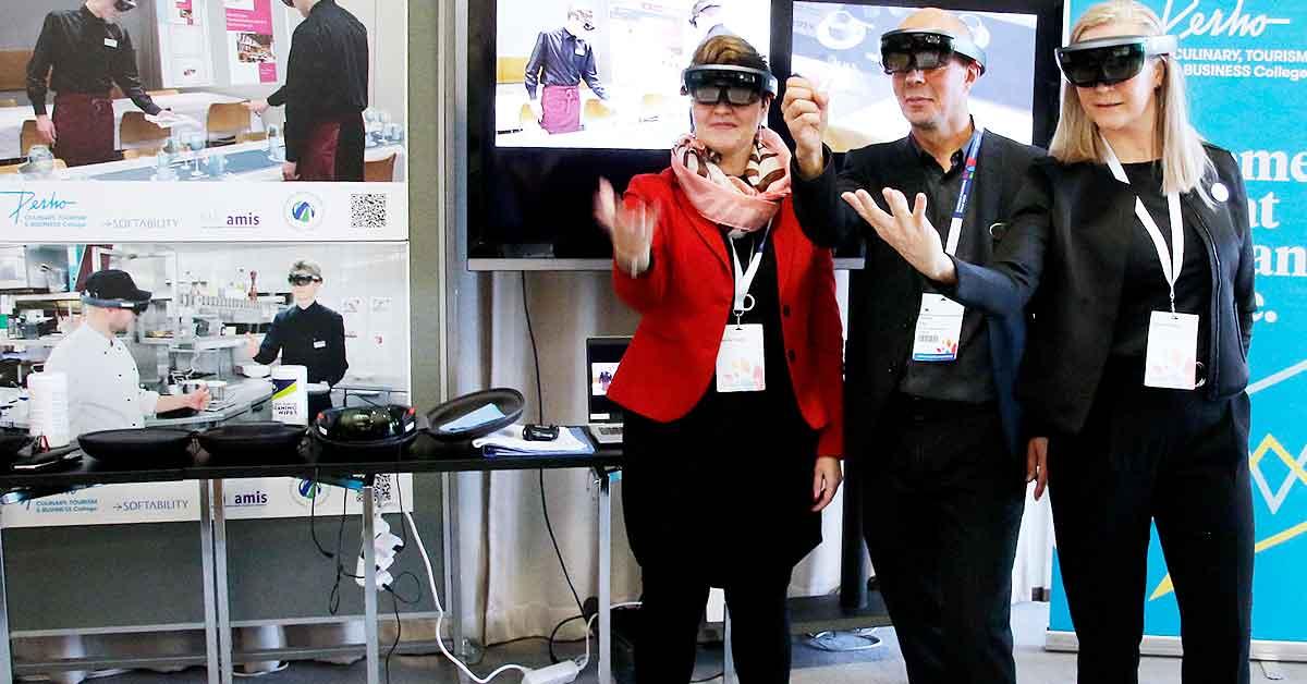 Perho HoloLens VET Expossa
