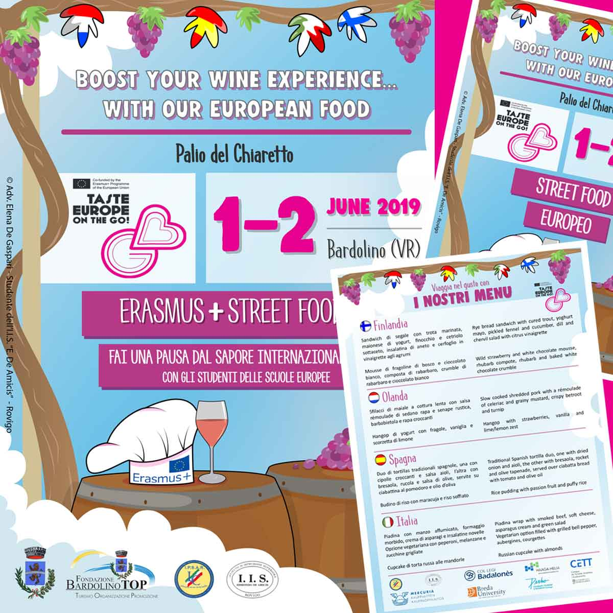 Erasmus+ Taste Europe on the Go!