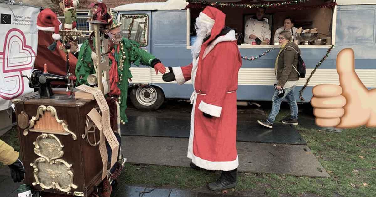 Tegolaiset joulumarkkinat Hollannissa