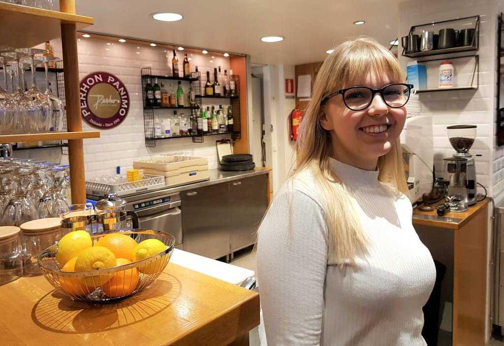 Nea Kankaanpää opiskelee ravintola- ja catering-alan perustutkintoa.