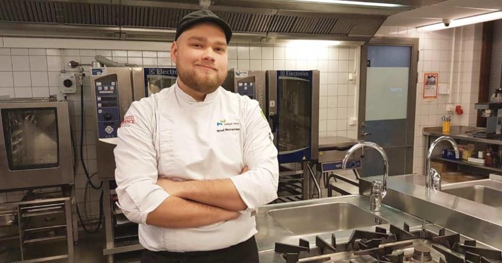 Ravintola- ja catering-alan perustutkintonnossa voi yhdistää kokin opintoja ja ammattikorkeakouluopintoja.