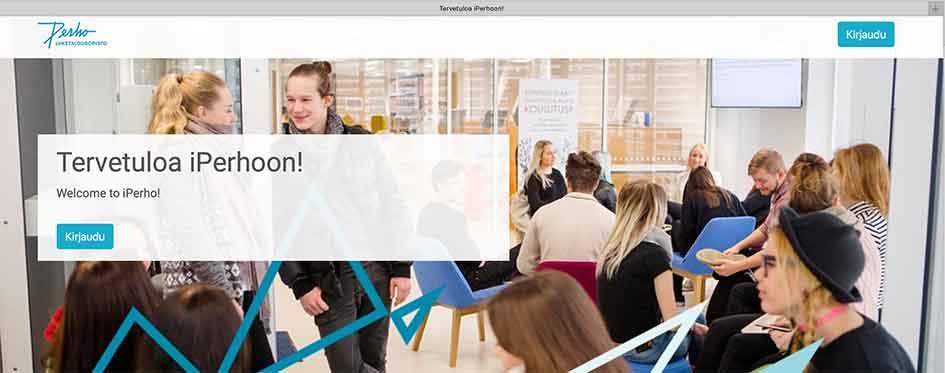 tiedote: Siirrymme etäopiskeluun 17.3. alkaen iPerho-verkko-oppimisympäristössä