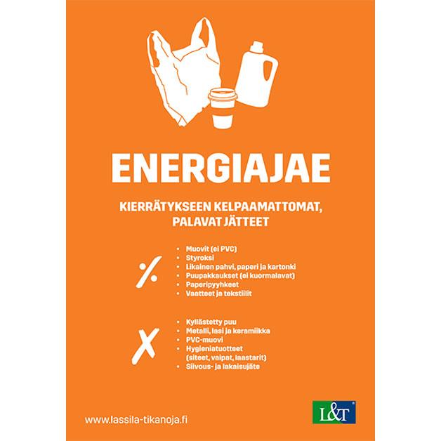 Energia-/sekajäte