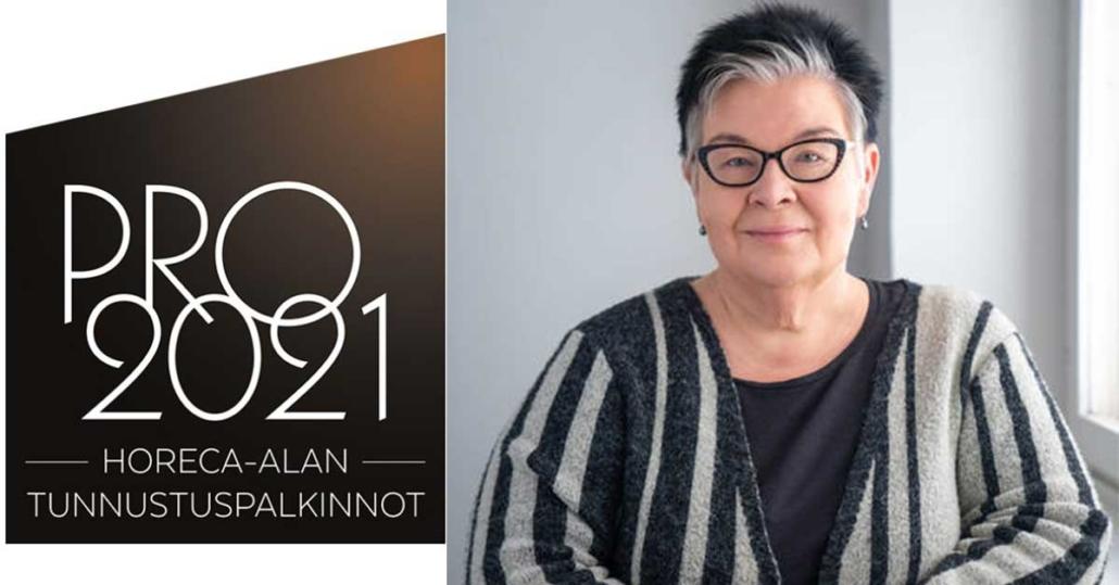 Lehtori Päivi Kaksonen on PRO2021 -finalisti