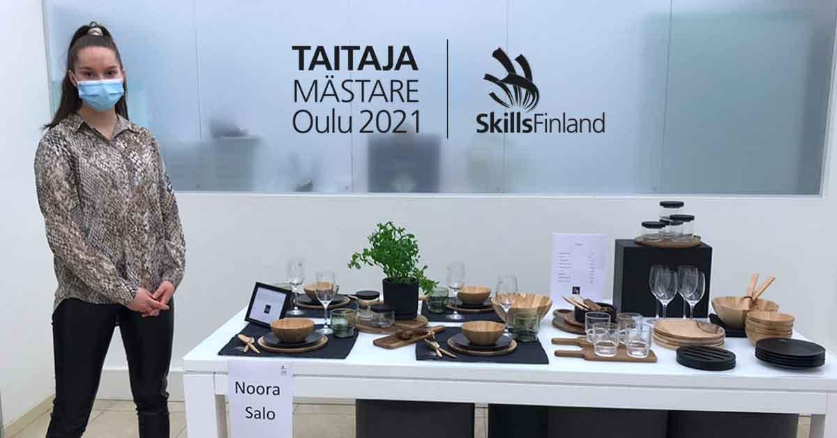 Noora, Taitaja2021 & Visuaalinen myyntityö