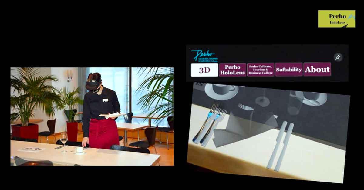 Hologrammien yhdistäminen reaalimaailman oppimisympäristöihin