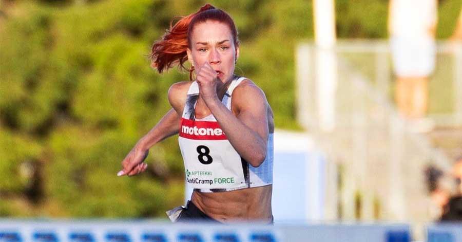 Anni Siirtola merkonomi, maajoukkuetason yleisurheilija, 100m aidat, Perho Liiketalousopiston ylioppilaspohjaisen Urhea-linjan alumni